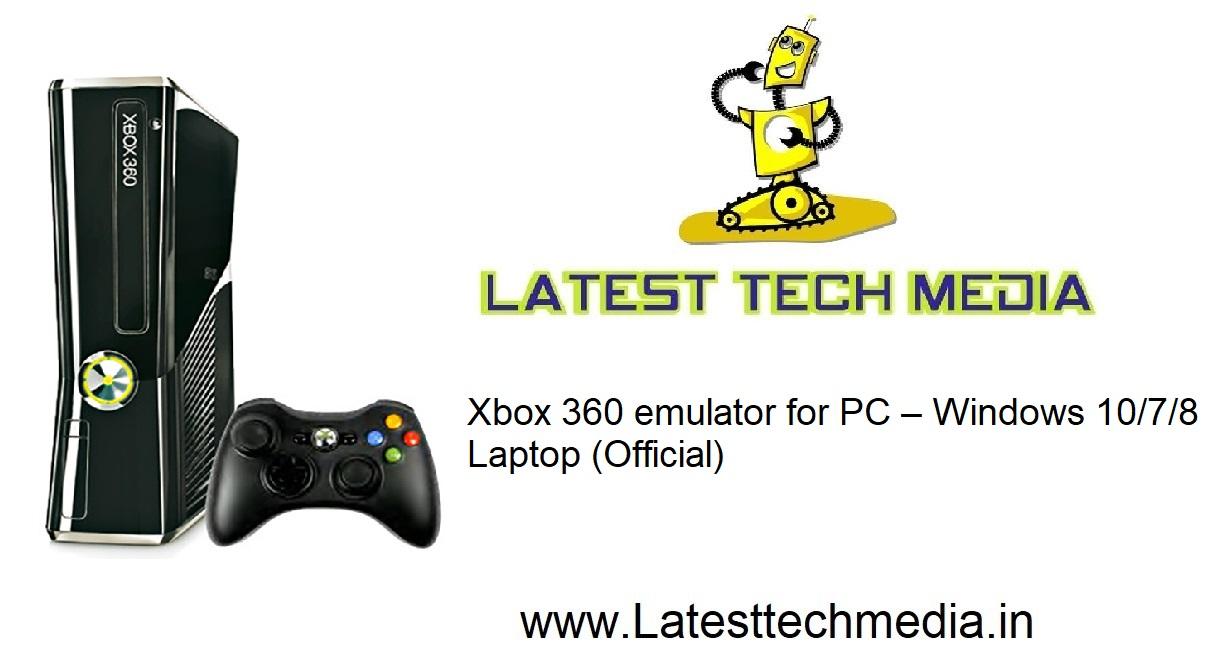 xbox 360 emulator windows 7