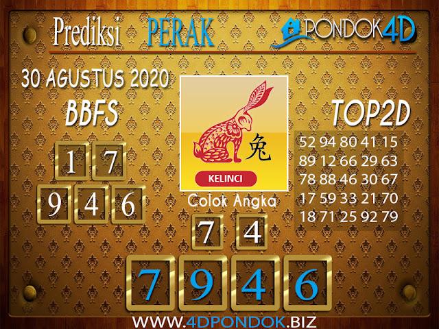 Prediksi Togel PERAK PONDOK4D 30 AGUSTUS 2020