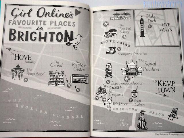 Girl Online Brighton Map