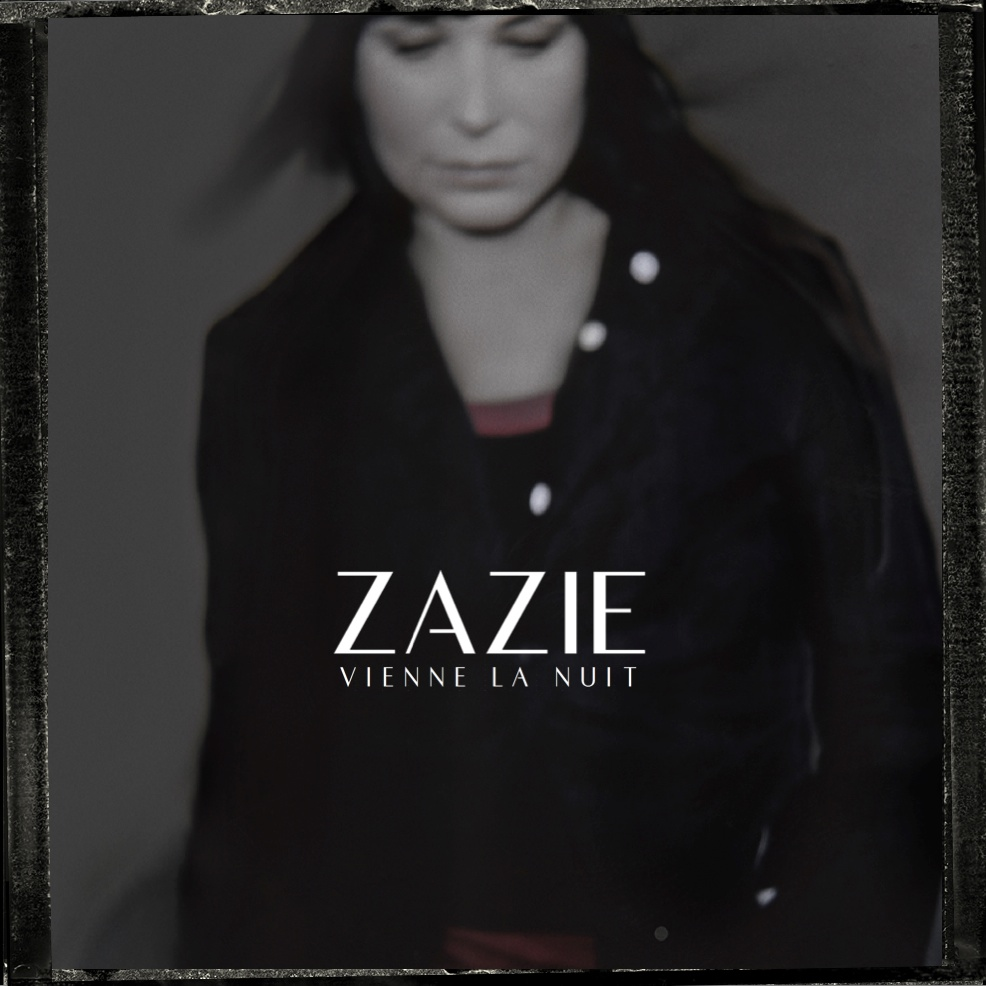 Just Cd Cover: ZAZIE : Vienne La Nuit (MadeByMe Single