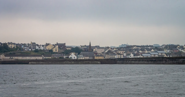 Photo of a wider view of Maryport from the Solway Firth