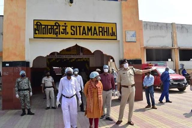 ब्रेकिंग : सीतामढ़ी में फिर से लगा लॉक डाउन