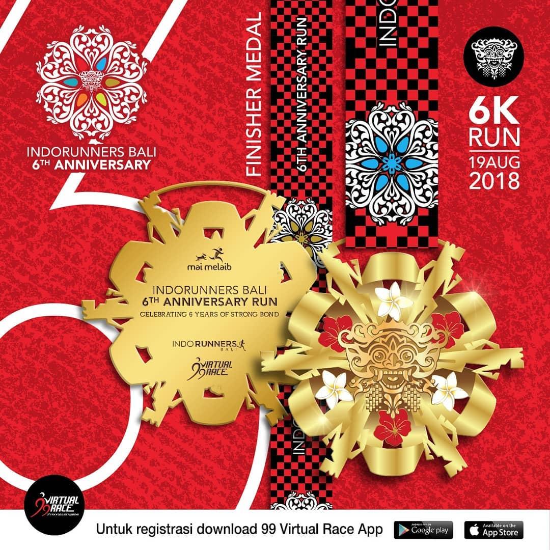 IndoRunners Bali 6th Anniversary Run • 2018