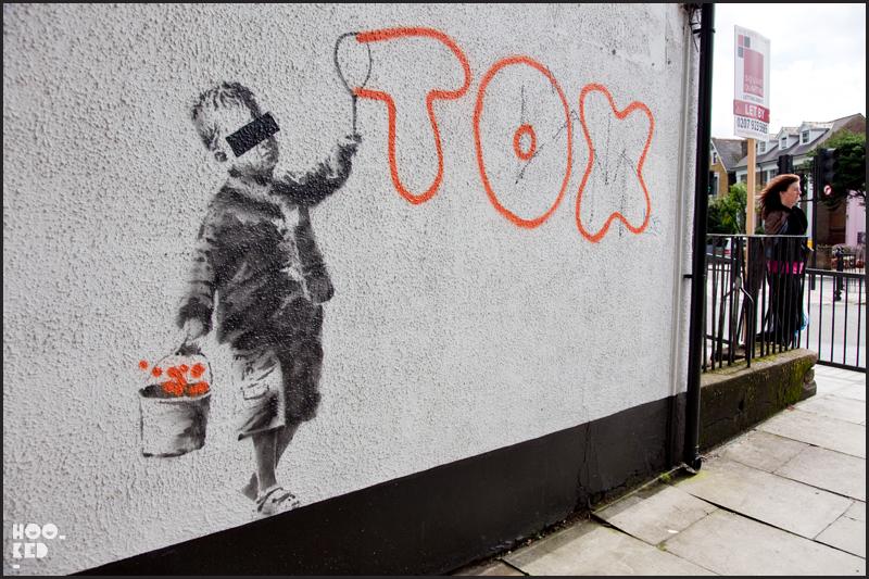 Banksy in London, Camden Tox Mural