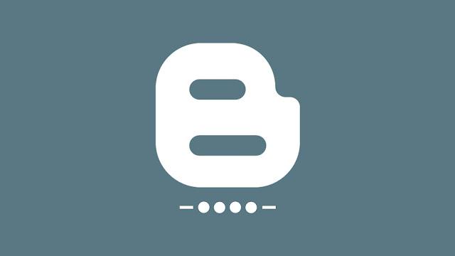 logo blogger abu-abu