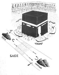 Proses Ibadah Sa'i Di Bukit Shafa Dan Marwa umroh
