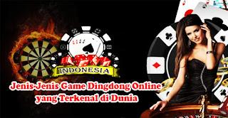 Jenis-Jenis Game Dingdong Online yang Terkenal di Dunia
