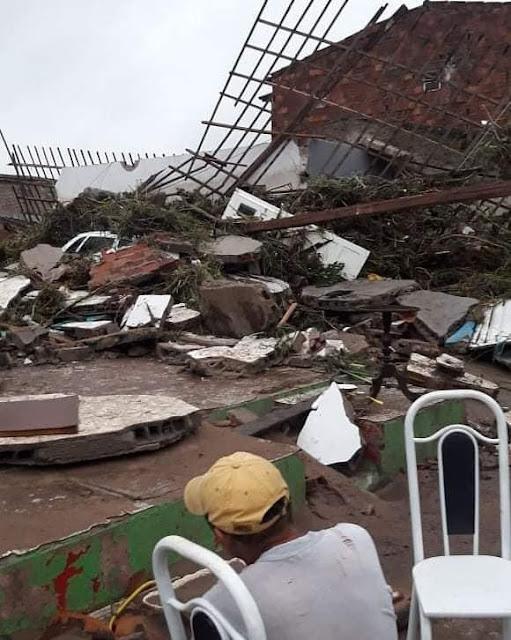 Em Santana do Ipanema, Governo do Estado anuncia ajuda emergencial após inundação do Riacho Camoxinga
