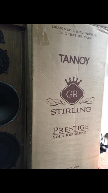 Loa Tannoy Stirling (GR) Prestigate - Made in United Kingdom