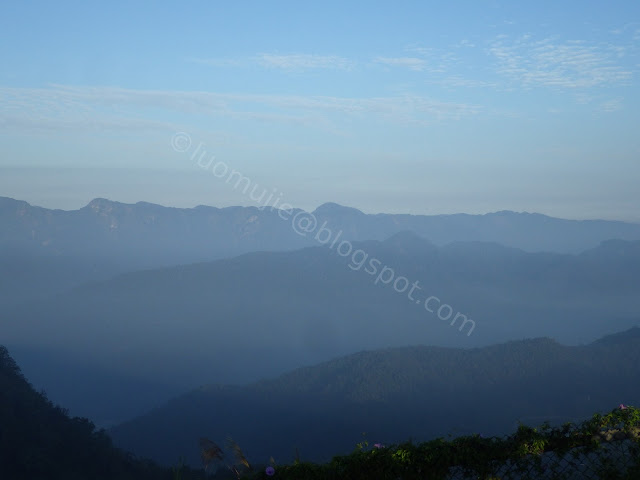 Sun Moon Lake Maolan Mountain hiking sunrise