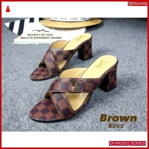 DFAN3251S52 Sepatu Ak 24 Hak Wanita Tahu Sol BMGShop
