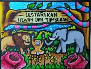 poster tentang hewan dan tumbuhan www.simplenews.me