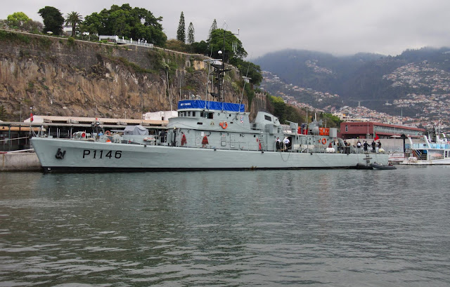 the old navy patrol ship Zaire is back