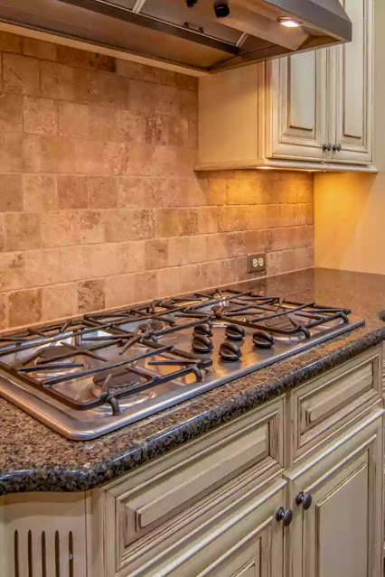 How to remove scratches from gas stove top