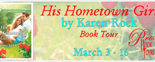 Book Tour & Giveaway ~ His Hometown Girl by Karen Rock