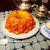 Bizcocho de mandarina con mermelada