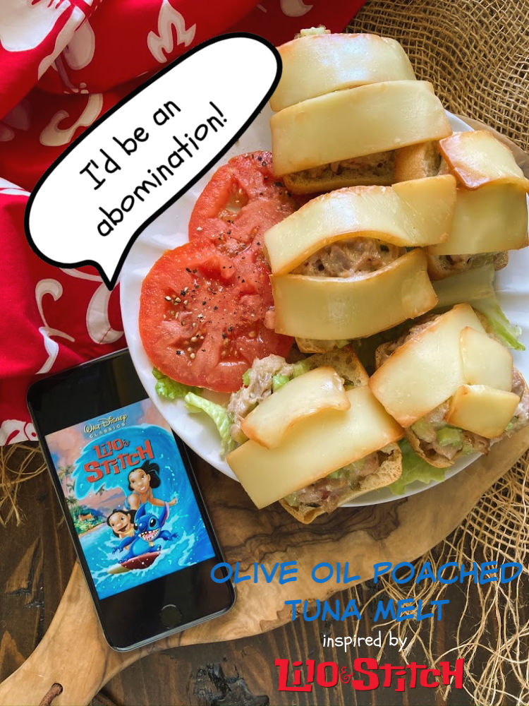 Abomination Tuna Sandwich | Lilo & Stitch #FoodnFlix