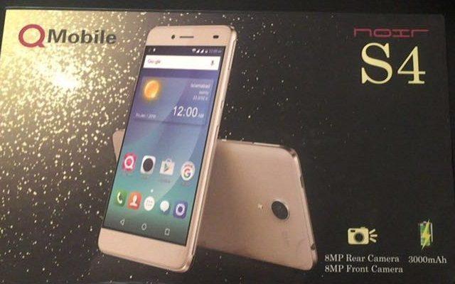 QMobile Launches Selfie Phone QMobile Noir S4