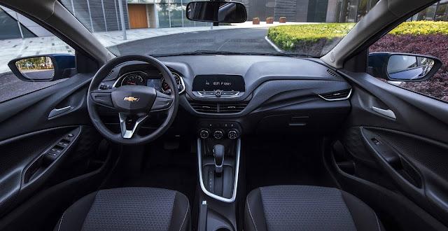 Novo Chevrolet Onix 2020 terá conexão 4G