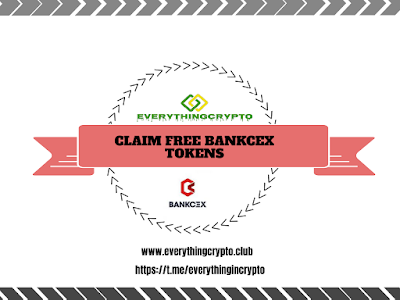 Claim Free BankCEX Tokens
