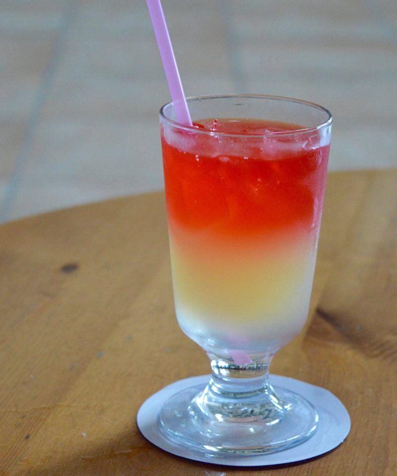 The all inclusive Cocktail menu at Blau Varadero, Cuba - sunset