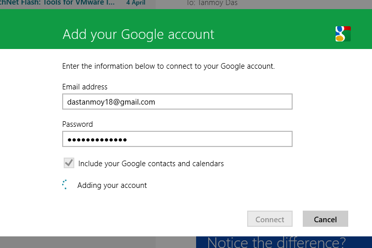 How To Set Up Or Add Gmail, Yahoo! & Outlook In Windows 8
