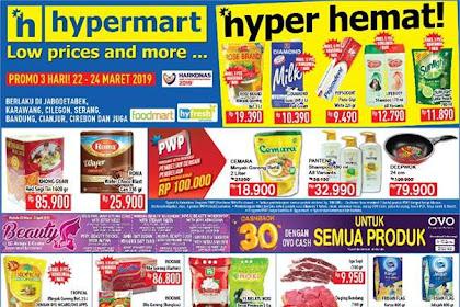 Promo Katalog Hypermart JSM Weekend 29 - 31 Maret 2019