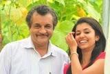 Anju Kurian with her father