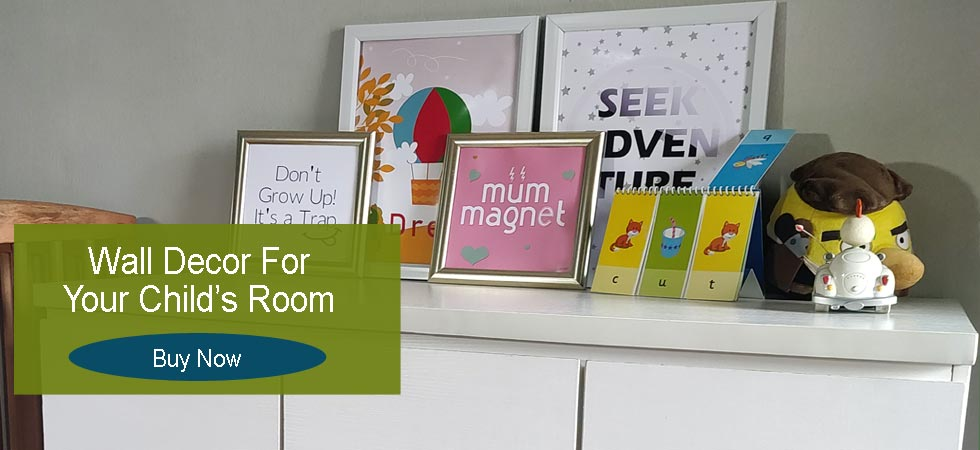 Buy wall Decor, Wall Frames for Children's room Decor Online in Nigeria