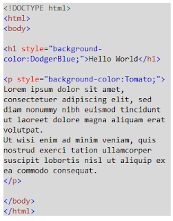 hello world in html