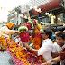 छवि ज्वैलर्स पर हुआ रामशंकर कठेरिया का जोरदार स्वागत