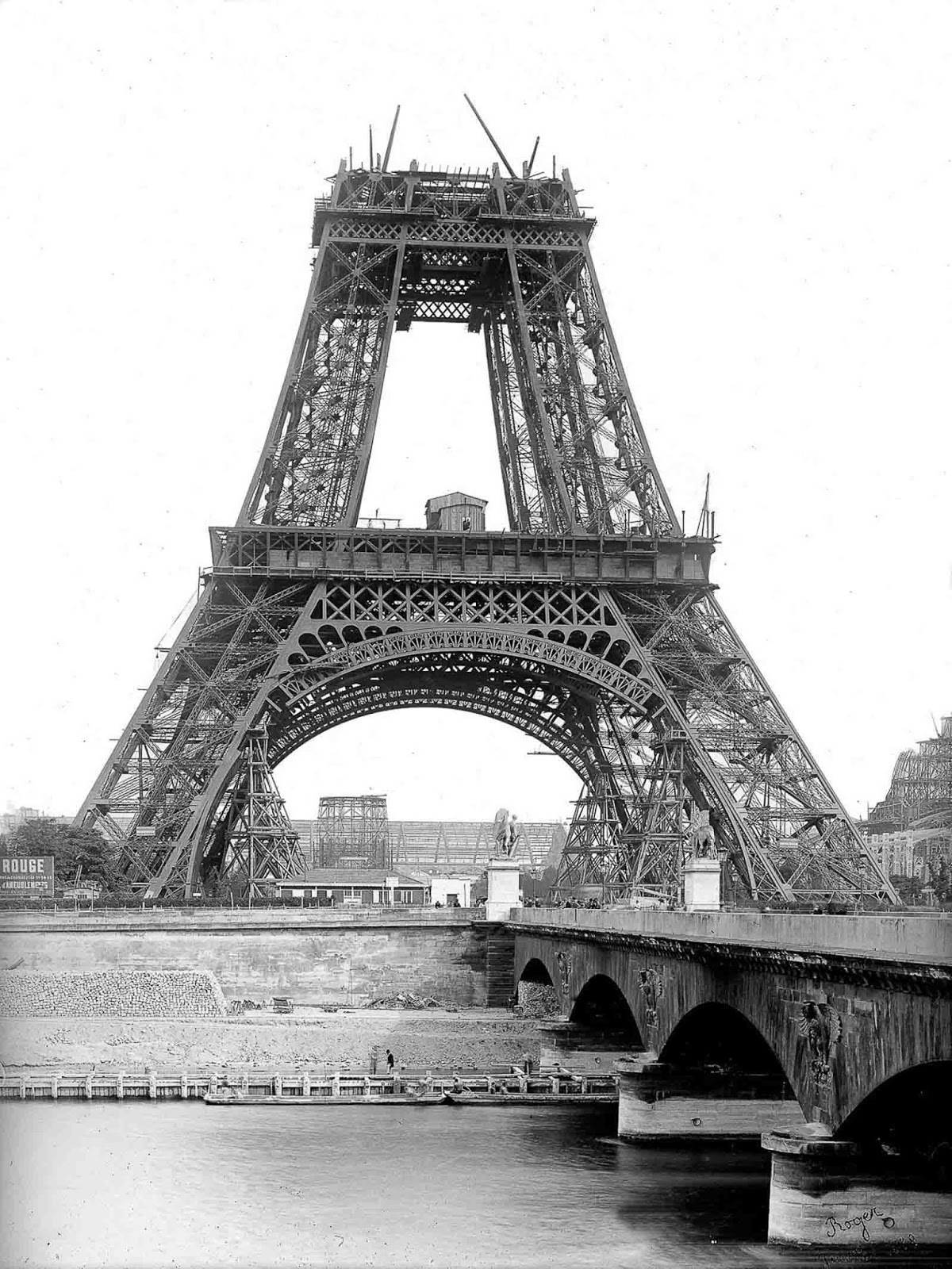 The tower on July 1888.