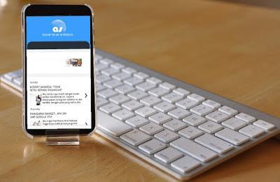 asesories moble bisa menyulap hape jadi laptop