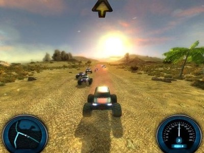 تنزيل مغامرات سيارات في الصحراء