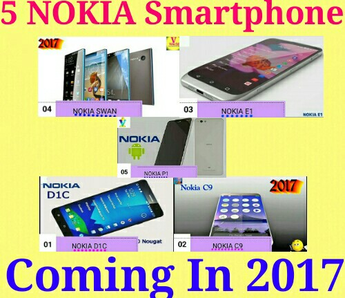 nokia 2017 c9. nokia 2017 me comeback karne wala hain aisi khabare aa rahi hain, is baar nokia android system or latest technology ke saath market aane hain. c9
