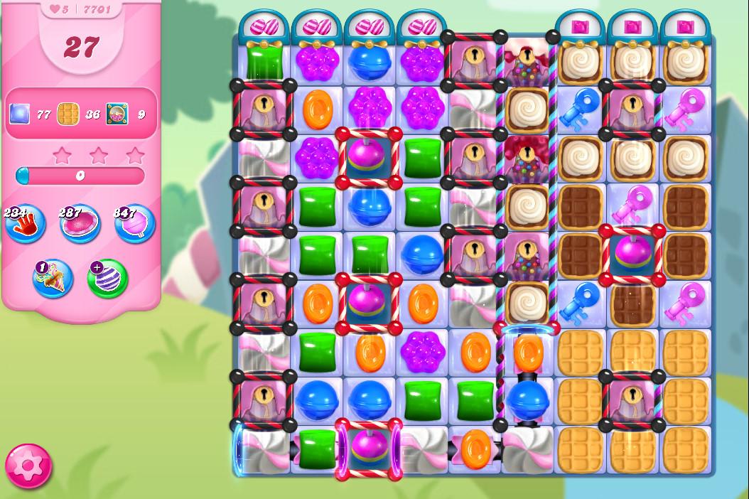 Candy Crush Saga level 7701