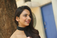 Rakul Preet Singh in lovely Pink Crop Top and Black Trousers at Jaya Janaki Nayaka success meet 013.JPG