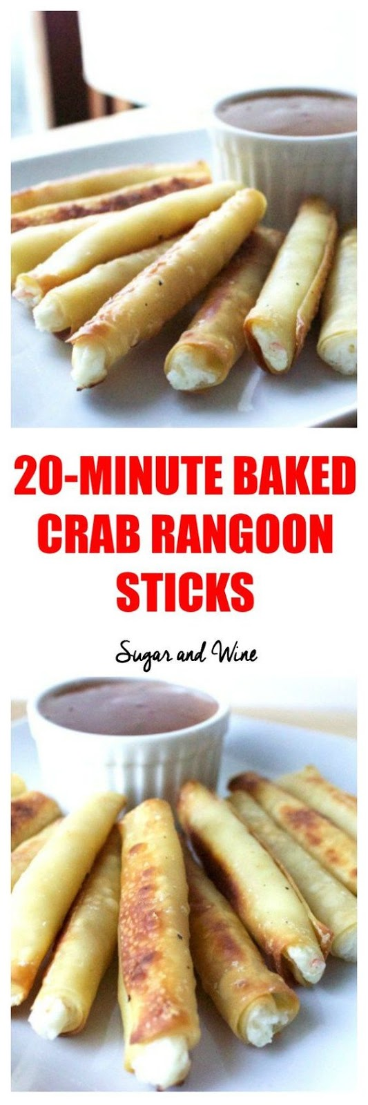 ★★★★☆ 7561 ratings | 20-MINUTE BAKED CRAB RANGOON STICKS #HEALTHYFOOD #EASYRECIPES #DINNER #LAUCH #DELICIOUS #EASY #HOLIDAYS #RECIPE #20MINUTE #BAKED #CRAB #RANGOON #STICKS