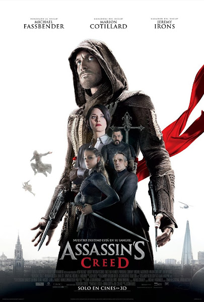 Poster Of Assassin's Creed 2016 Hindi 480p HDTS Dual Audio Full Movie Download