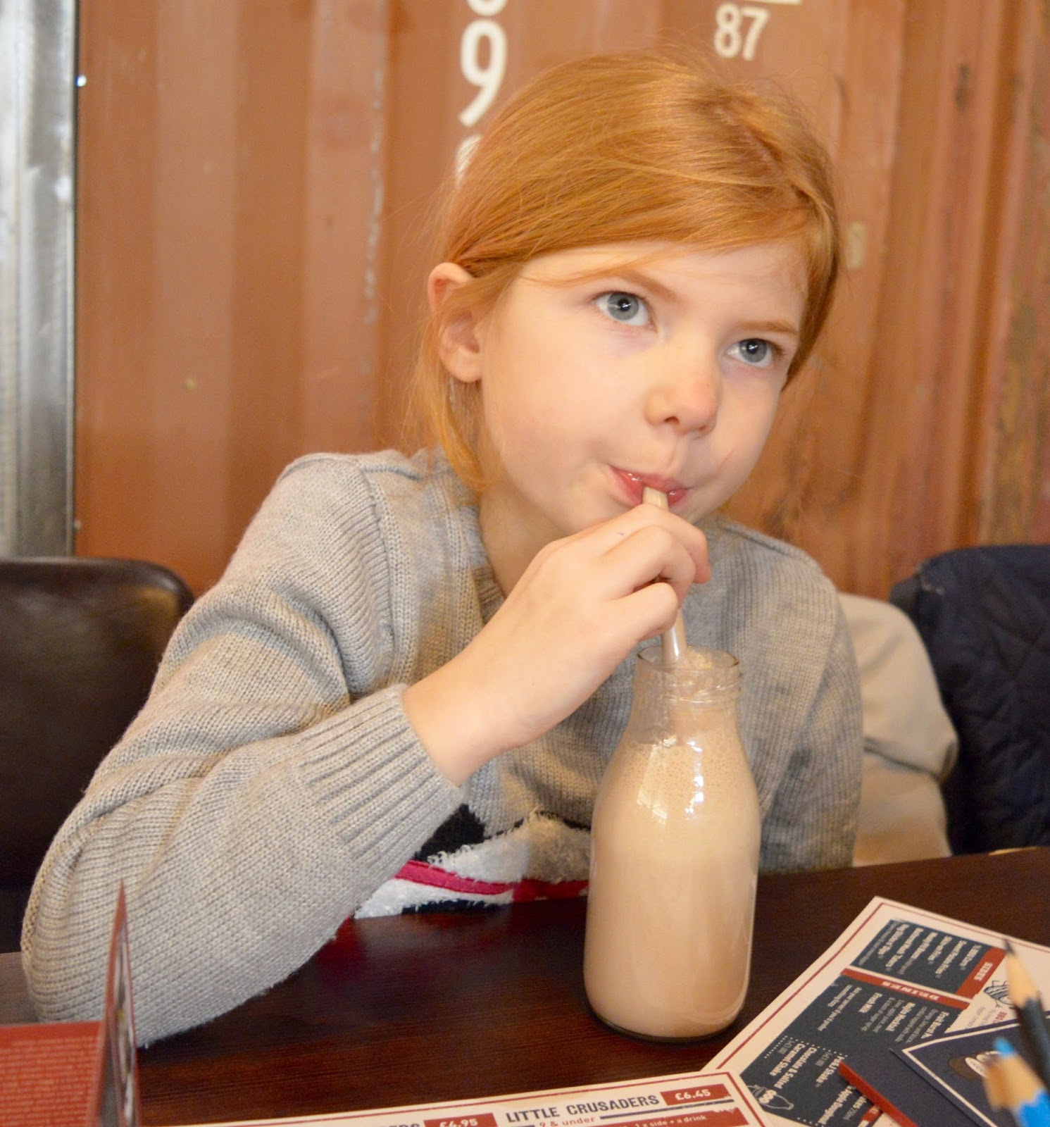 Red's True BBQ Newcastle | Menu Review (including Children's Menu) - kid's milkshake