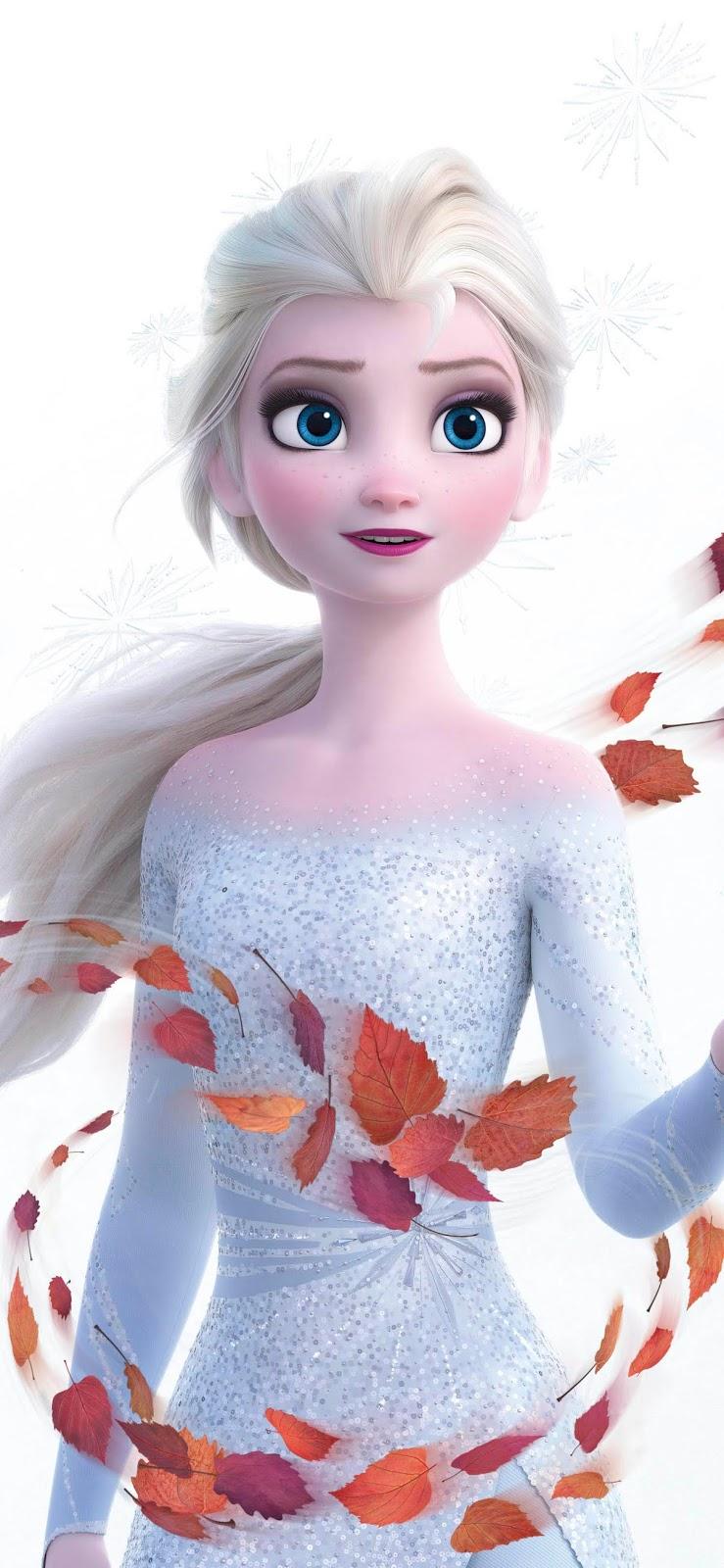 Elsa mobile wallpaper