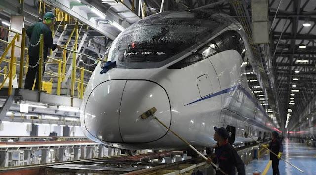 Kereta Cepat Jakarta-Bandung dapat melesat 350 Km Per Jam