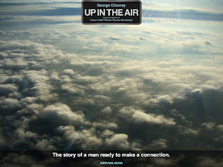 up in the air, clooney, connection, travel