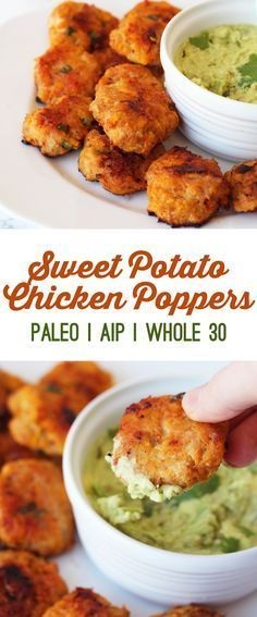 Sweet Potato Chicken Poppers (Paleo & Aip)