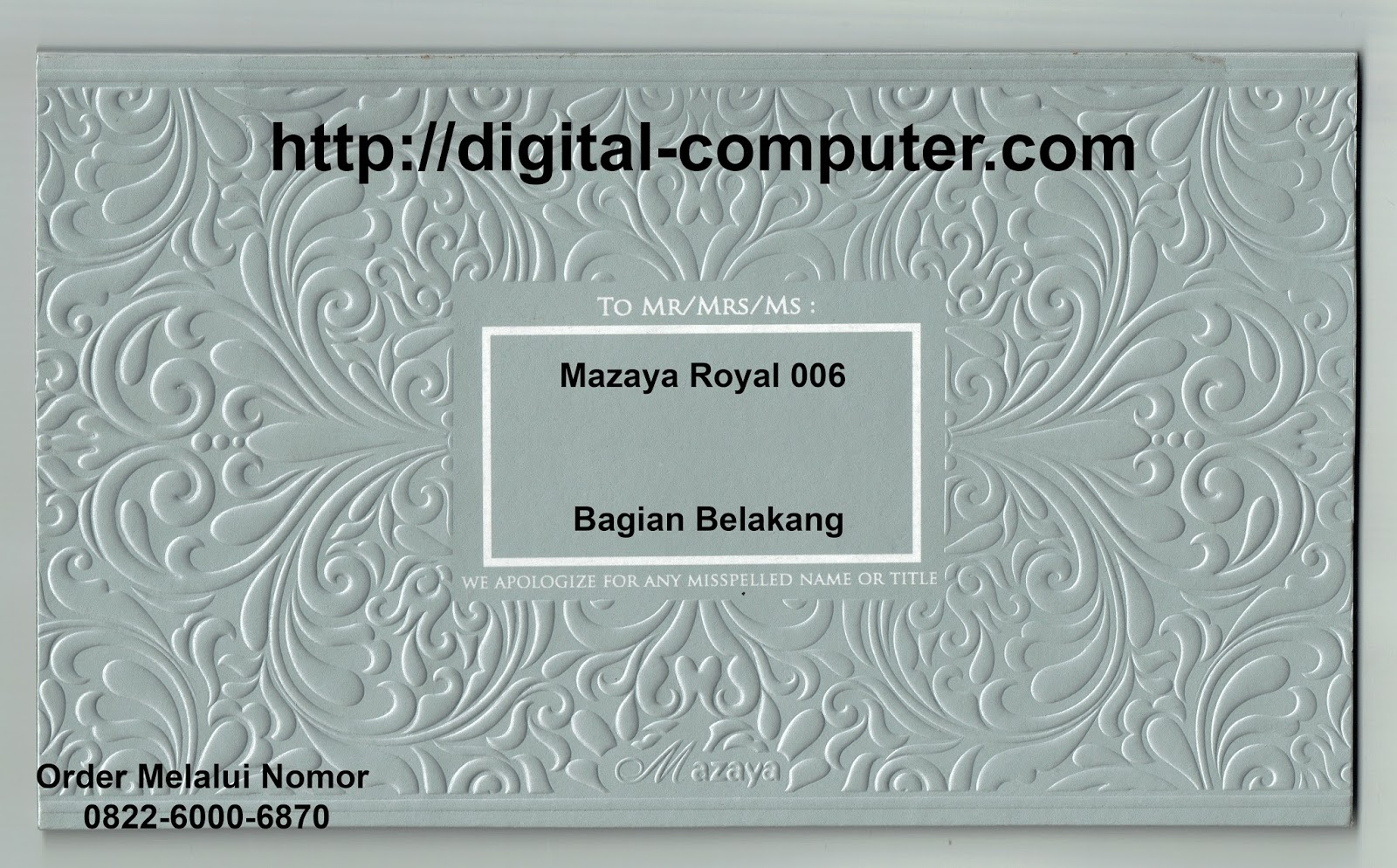 undangan hardcover Mz-Royal 006