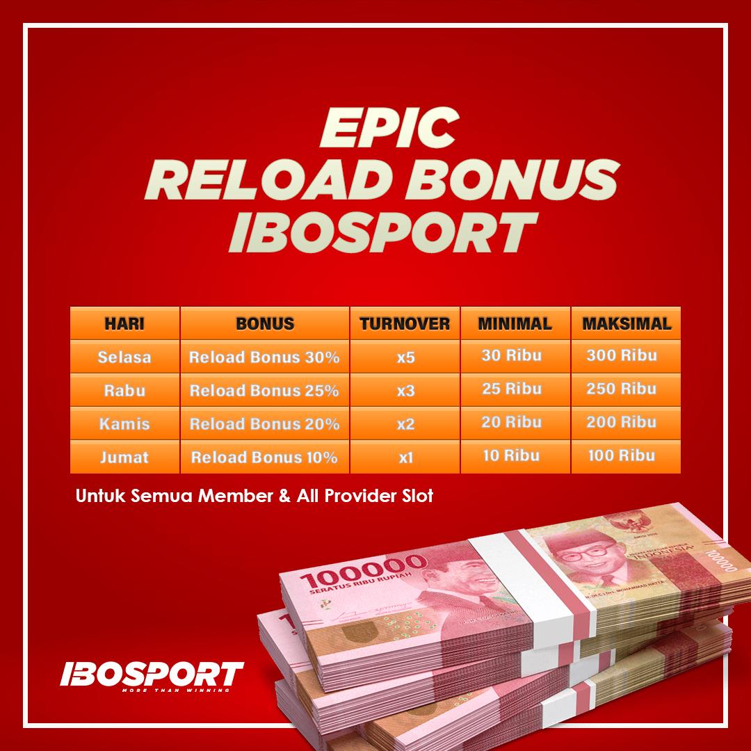 epic reload bonus