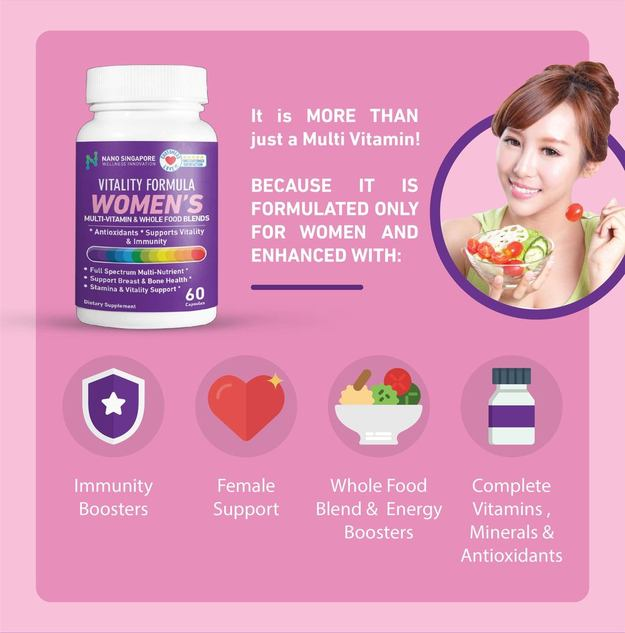 what vitamins does a woman need daily
