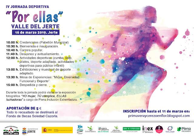 "IV Jornada Deportiva ""Por Ellas - Valle del Jerte"""