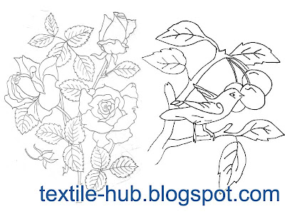 Textile Hub: Sample Embroidery Drawings