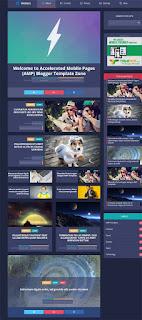 Vletter  Blogger template